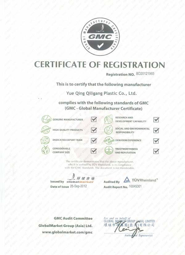 Qiligang CMC Authorisec Supplier
