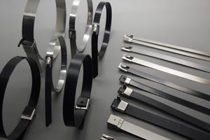 Stainless steel cable tie overview