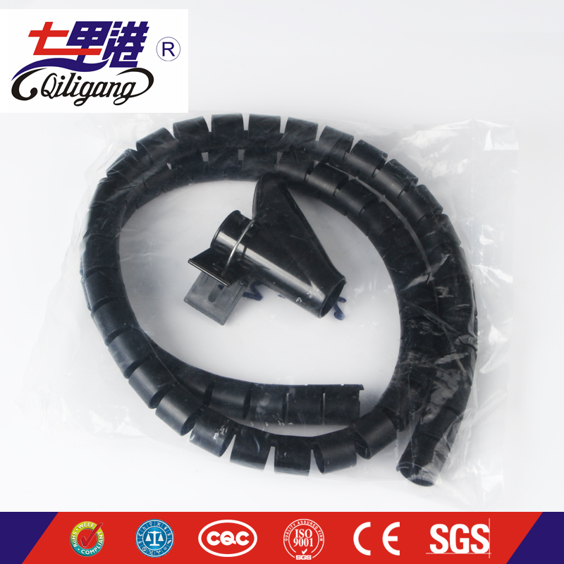 China manufacturer PE Spiral Wrapping Band