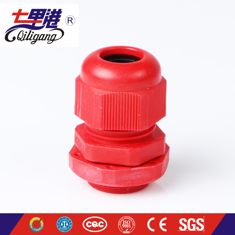 PG Nylon Cable Gland redcolor