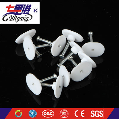 plastic wall cable clip oval type,india clip,nail oval clip