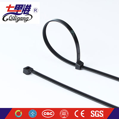 Natural two lock cable tie