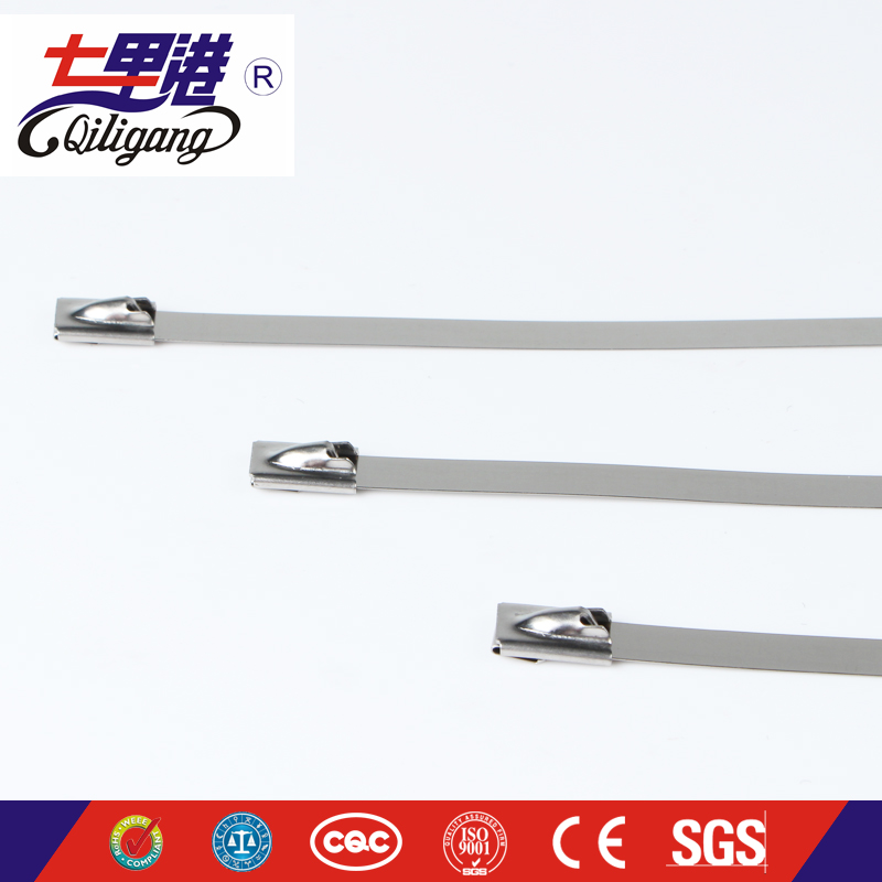Ball lock 304 stainless steel tie